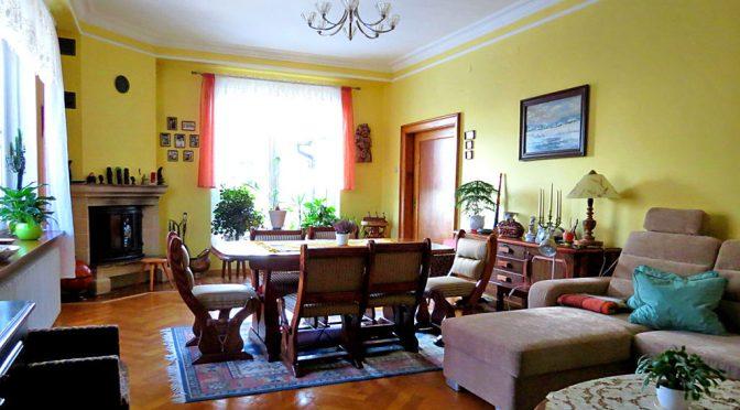 salon w luksusowej rezydencji do sprzedaży w Dusznikach-Zdroju