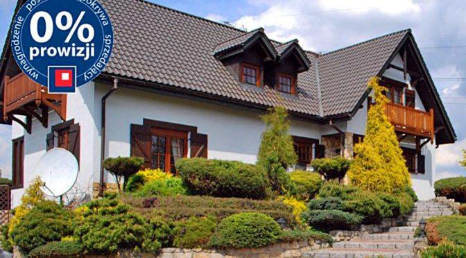 front ekskluzywnej rezydencji do sprzedaży w okolicy Katowic