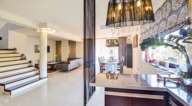 nowoczesne wnętrze luksusowej rezydencji na sprzedaż w Białymstoku