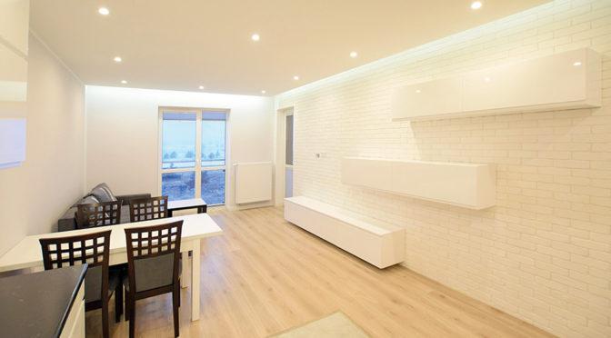 nowoczesne wnętrze prestiżowego apartamentu w Suwałkach na sprzedaż
