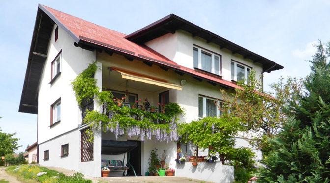 front ekskluzywnej rezydencji do sprzedaży w Kwidzynie