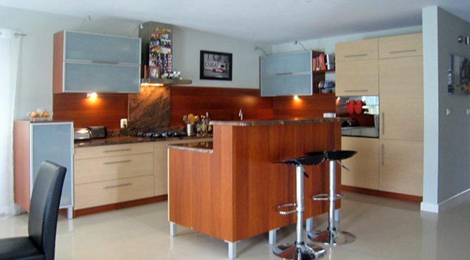 nowoczesna kuchnia w luksusowej rezydencji do sprzedaży w okolicy Białegostoku