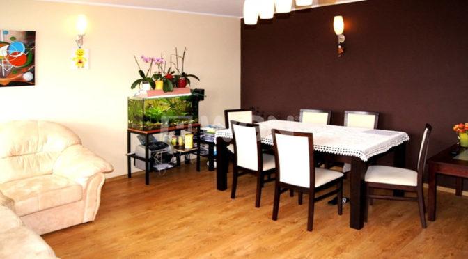 salon w luksusowym apartamencie do wynajęcia w Inowrocławiu