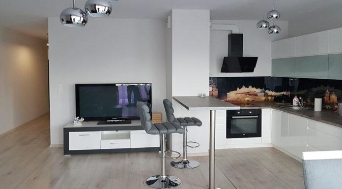 nowoczesne wnętrze ekskluzywnego apartamentu do wynajmu w Krakowie