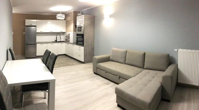 nowoczesne wnętrze luksusowego apartamentu do wynajmu w Szczecinie