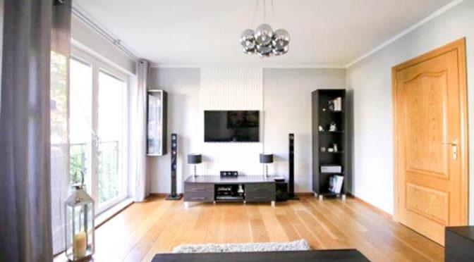 nowoczesny salon w luksusowym apartamencie do sprzedaży w Szczecinie