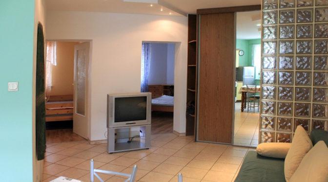 przestronne wnętrze luksusowego apartamentu do wynajmu w Kaliszu