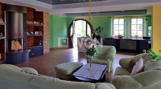 stylowe wnętrze ekskluzywnej rezydencji do sprzedaży w Ustroniu