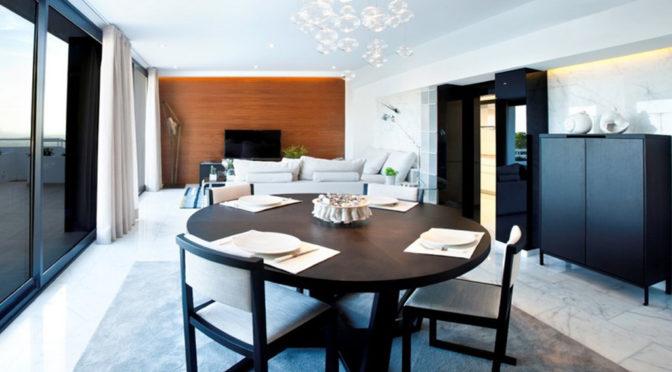 nowoczesne wnętrze luksusowej rezydencji do sprzedaży w Hiszpanii