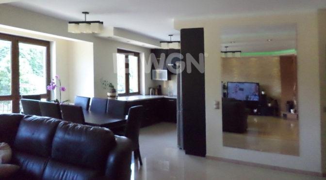 nowoczesne wnętrze ekskluzywnego apartamentu do sprzedaży na Mazurach