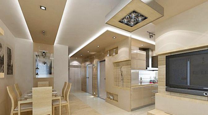 nowoczesne wnętrze salonu w luksusowym apartamencie do sprzedaży w Kwidzynie