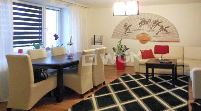 salon w stylu japońskim w luksusowym apartamencie do sprzedaży w Częstochowie