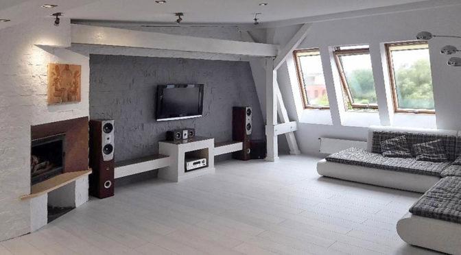 nowoczesne wnętrze luksusowego apartamentu w Szczecinie na sprzedaż