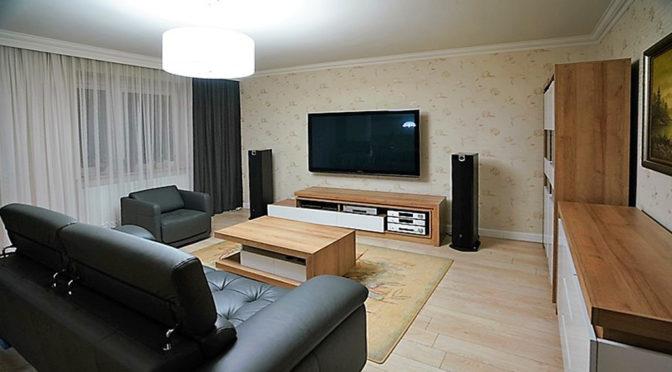 ekskluzywny salon w luksusowym apartamencie do sprzedaży w Kaliszu