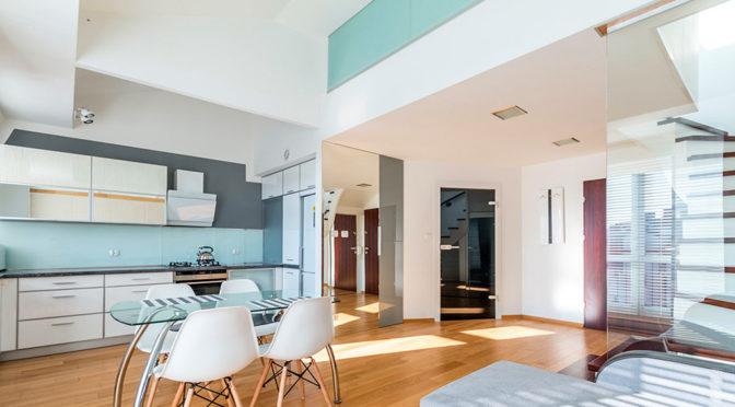 nowoczesne wnętrze ekskluzywnego apartamentu do wynajmu w Szczecinie