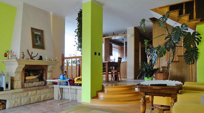 luksusowe wnętrze ekskluzywnej rezydencji w okolicy Torunia na sprzedaż