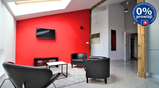 nowoczesny salon w luksusowym apartamencie do wynajmu w Krakowie