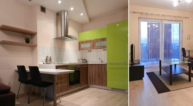nowoczesne wnętrze ekskluzywnego apartamentu do wynajmu w Katowicach