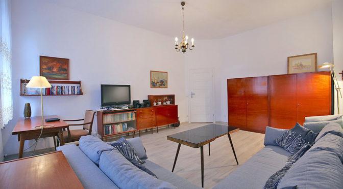 stylowe wnętrze salon w ekskluzywnym apartamencie w Świnoujściu do sprzedaży