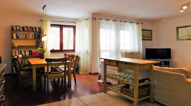 fragment komfortowego wnętrza luksusowego apartamentu do sprzedaży we Wrocławiu