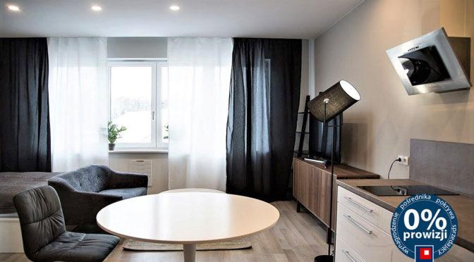 nowoczesne wnętrze salonu w ekskluzywnym apartamencie do wynajmu w Krakowie