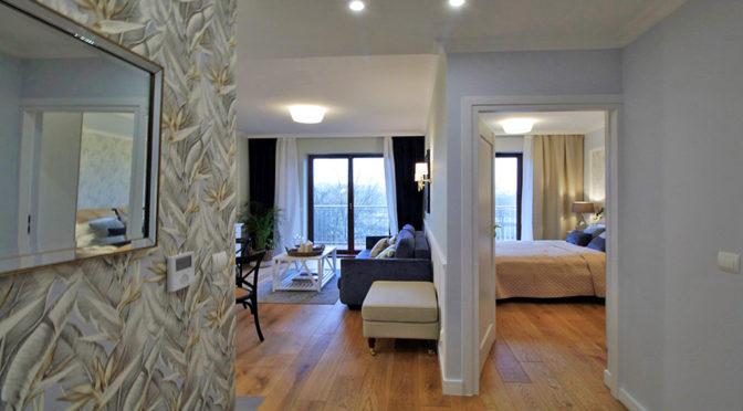 ekskluzywny wnętrze luksusowego apartamentu do wynajmu w Krakowie