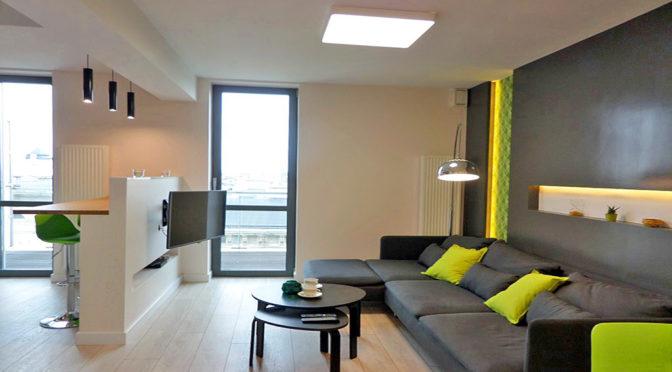 luksusowe wnętrze ekskluzywnego apartamentu do wynajęcia we Wrocławiu
