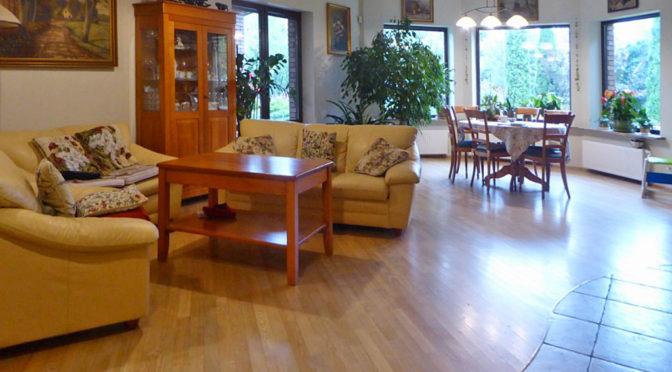 ekskluzywny salon w luksusowej rezydencji do sprzedaży w okolicach Łodzi