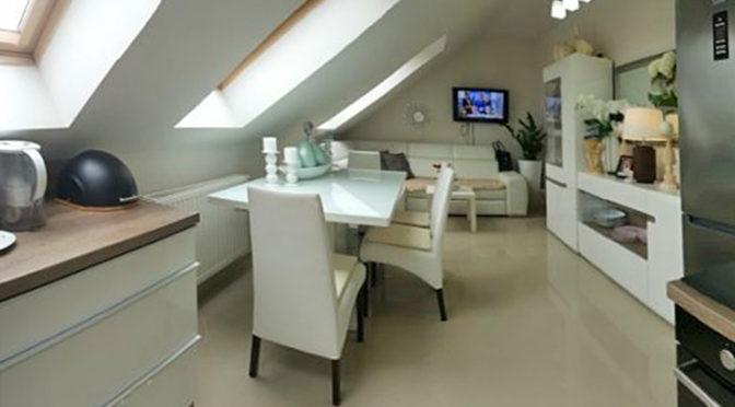 ekskluzywnie wykończone wnętrze luksusowego apartamentu do sprzedaży w Szczecinie