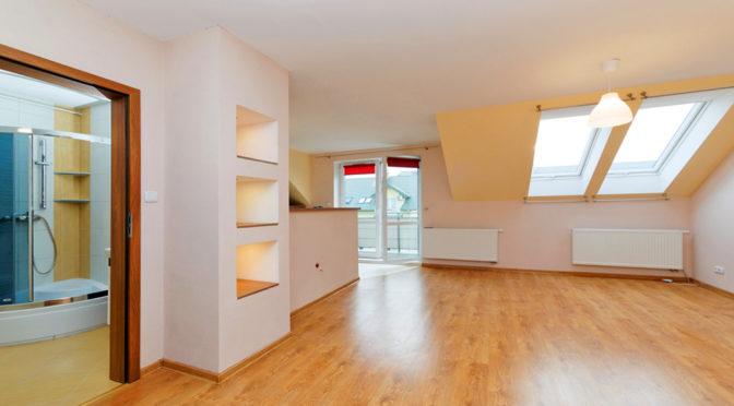 przestronne wnętrze luksusowego apartamentu w Tarnowie na sprzedaż