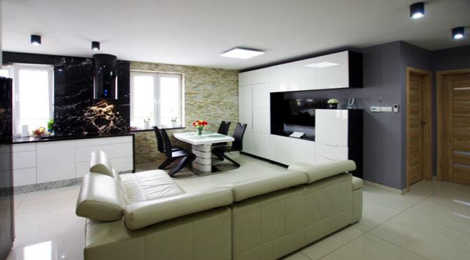 luksusowe wnętrze ekskluzywnego apartamentu w okolicach Legnicy na sprzedaż