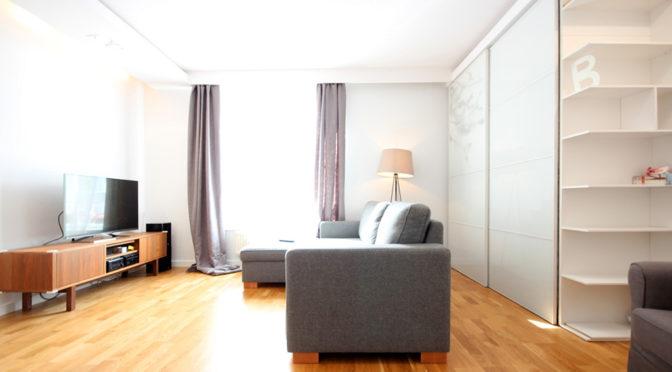 wytworne wnętrze luksusowego apartamentu w Szczecinie na sprzedaż