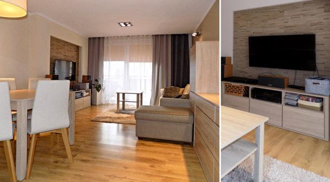 komfortowe wnętrze luksusowego apartamentu do sprzedaży na Mazurach