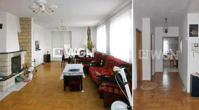 luksusowy salon oraz przedpokój w ekskluzywnej rezydencji do sprzedaży w Częstochowie