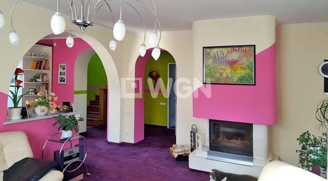 komfortowe wnętrze ekskluzywnej rezydencji do sprzedaży w okolicach Bielska-Białej