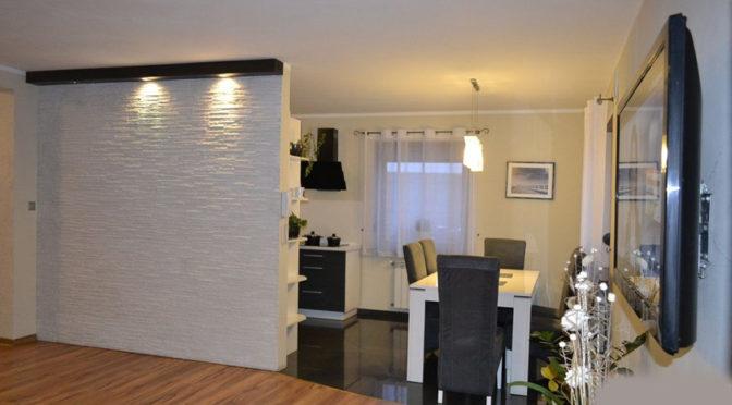 komfortowe wnętrze luksusowej rezydencji w okolicy Leszna na sprzedaż