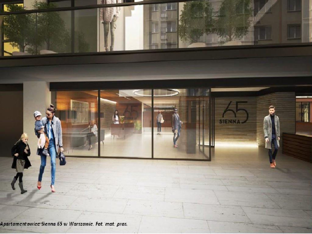 Sienna 65- nowy apartamentowiec z niezwykłym widokiem na warszawski skyline
