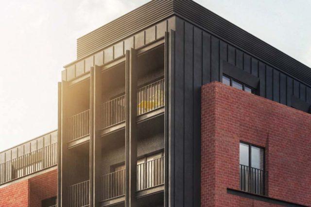 W centrum Torunia powstanie apartamentowiec w industrialnym stylu- Grand Bulvar