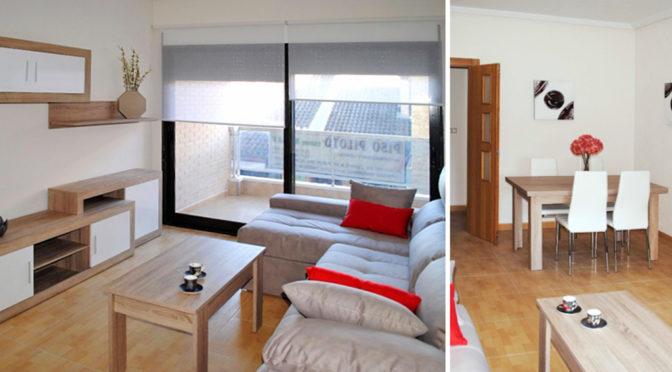 prestiżowe wnętrze salonu w ekskluzywnym apartamencie do sprzedaży w Hiszpanii