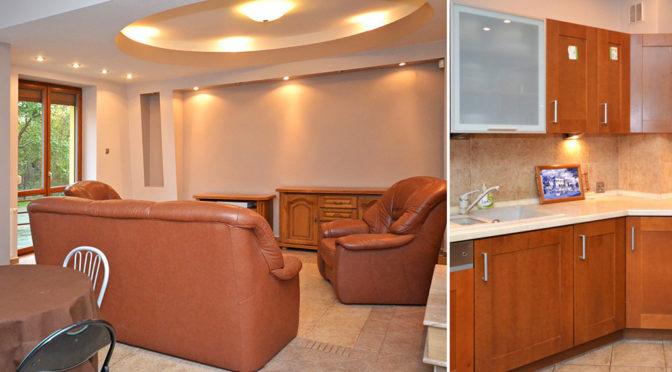 ekskluzywny salon w luksusowej rezydencji do wynajęcia w Radomiu