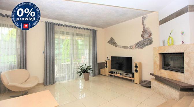 wytworne wnętrze salonu w luksusowej rezydencji w Lublinie na sprzedaż