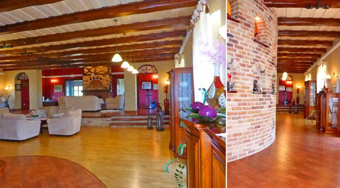 prestiżowy salon i eleganckie wnętrze luksusowej rezydencji do sprzedaży w okolicach Malborka