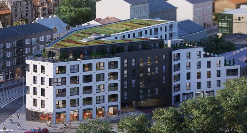 Powstanie kameralny apartamentowiec w jednej z najmodniejszych dzielnic Krakowa