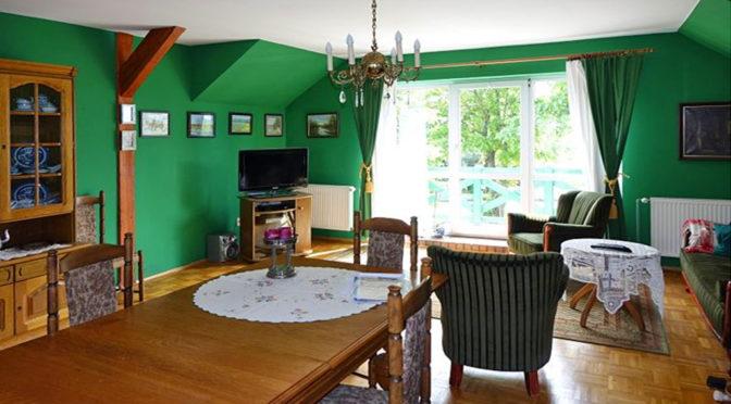 luksusowy salon w ekskluzywnej rezydencji do sprzedaży w okolicach Torunia