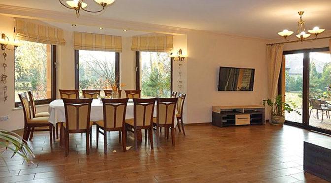 stylowe wnętrze ekskluzywnej rezydencji do sprzedaży Toruń (okolice)