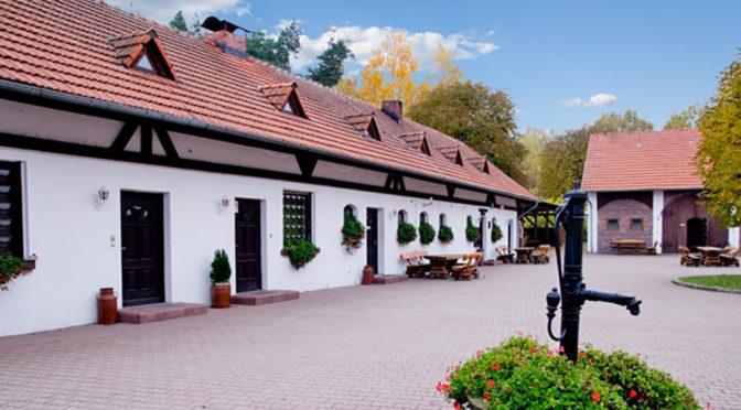 reprezentacyjne wejście do ekskluzywnej rezydencji do wynajmu Częstochowa (okolice)