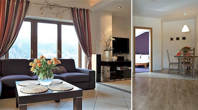eleganckie wnętrze luksusowej rezydencji do sprzedaży Szczyrk
