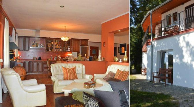 komfortowe wnętrze luksusowej rezydencji do wynajęcia Żagań (okolice)