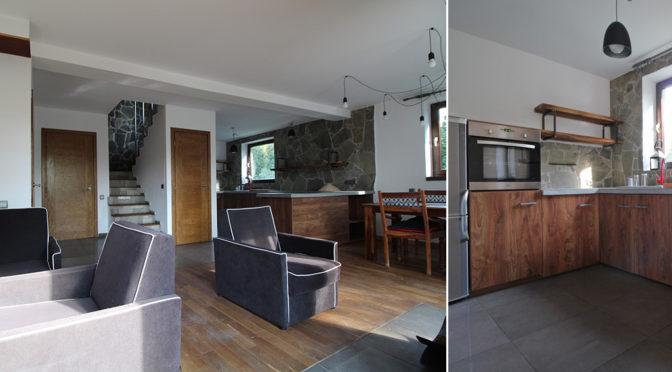 przestronny i nowoczesny salon w luksusowej rezydencji do wynajęcia Kraków