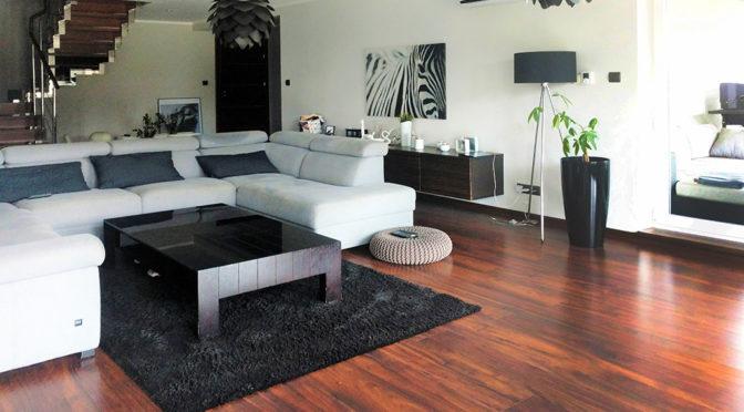 zaprojektowane w nowoczesnym designie wnętrze luksusowej rezydencji do sprzedaży Bielsko-Biała (okolice)